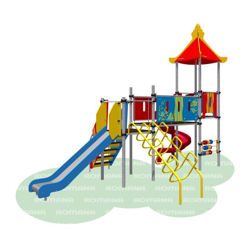 Открытки детские площадки